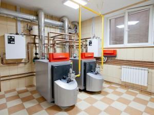 Установка газовой горелки
