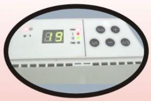 Удобный дисплей и кнопки управления