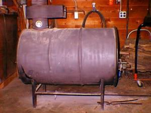 Газогенераторная печь