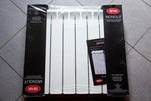 Радиатор Monolit в упаковке