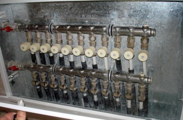 Коллектор для лучевой системы