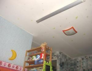 Обогрев детской комнаты