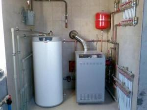 Водяное отопление с газовым котлом