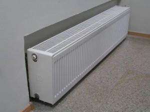 Напольный прибор отопления