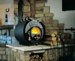 Печное отопление дома и его особенности