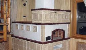 Печь в старорусском стиле