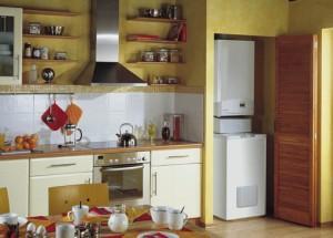 Отопительная система на кухне