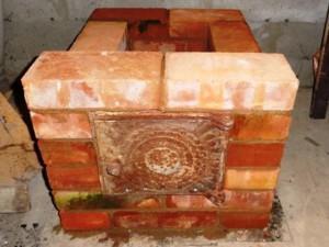 Печка в гараже