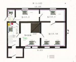 Схема планирования системы отопления