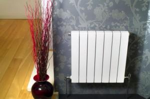 Батарея отопления на стене