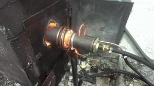 Изготовление горелки на отработанном масле