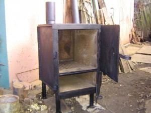 Квадратная печка