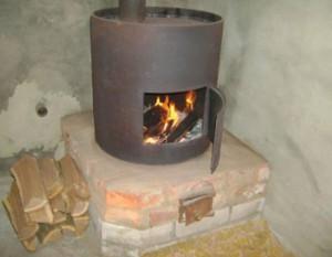 Печка на подставка