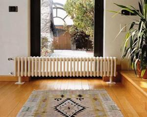 Невысокий и многосекционный радиатор