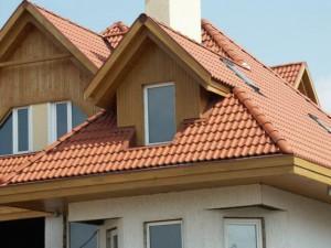 Частный дом спроектирован по технологии теплосбережения