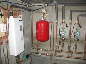 Закрытая система отопления с баком