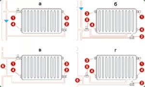 Схемы двух типов подключения