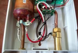 Электрическое подключение нагревателя