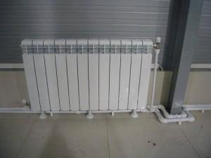 Подключение радиатора в доме