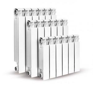 Алюминиевые радиаторы разных размеров