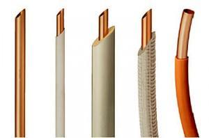 Разные по диаметру трубы