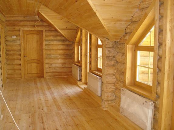 Отопление в деревянном доме своими руками видео