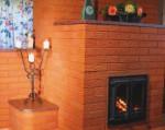 Современное печное отопление в частном доме