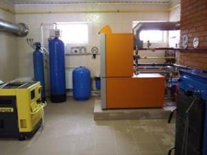 Газовая система отопления