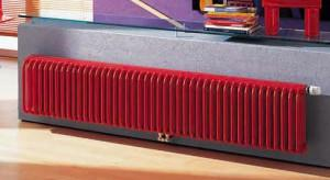 Красный радиатор Керми