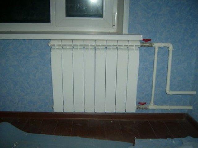 Как сделать монтаж радиатора