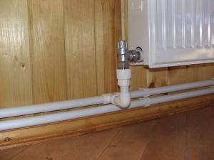 Вертикальная и горизонтальная разводка системы отопления