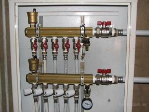 Особое подключение труб отопления