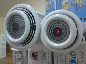 Система приточно-вытяжной вентиляции