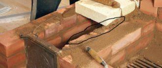 Печь кирпичная строим сами