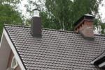 Дымоотвод на крыше